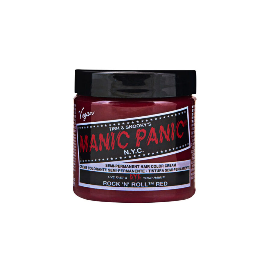 MANIC PANIC Classic Rock 'n' Roll Red