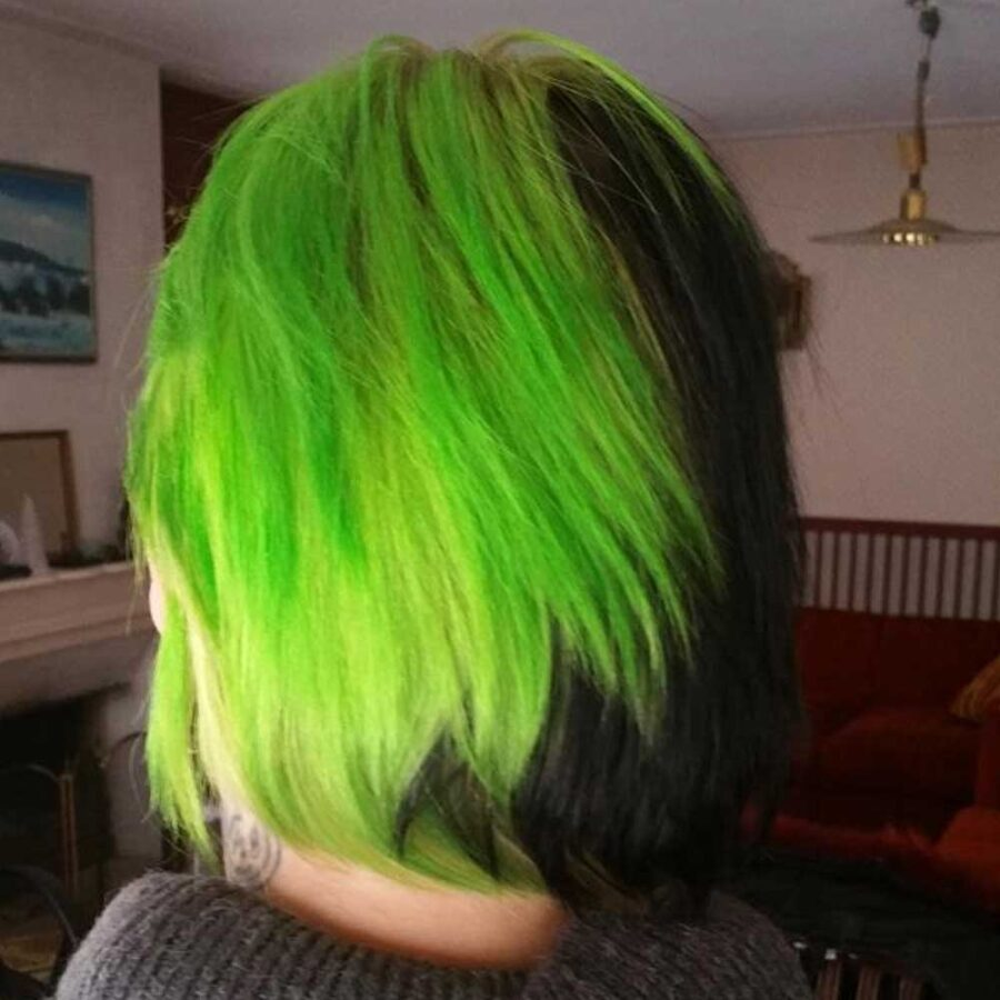 CRAZY COLOR Lime Twist 68