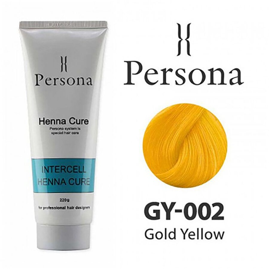 PERSONA 002 Gold Yellow
