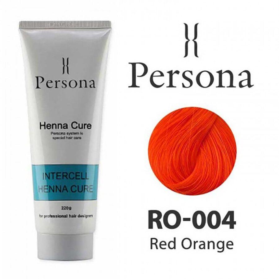 PERSONA 004  Red Orange