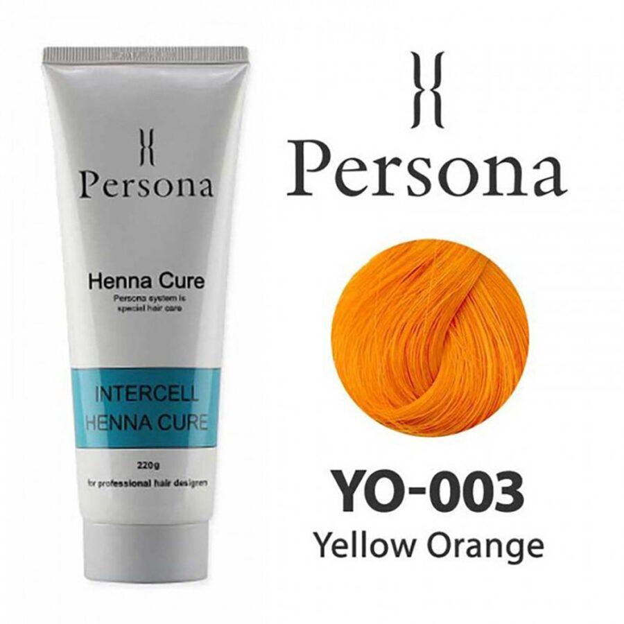 PERSONA 003 Yellow Orange