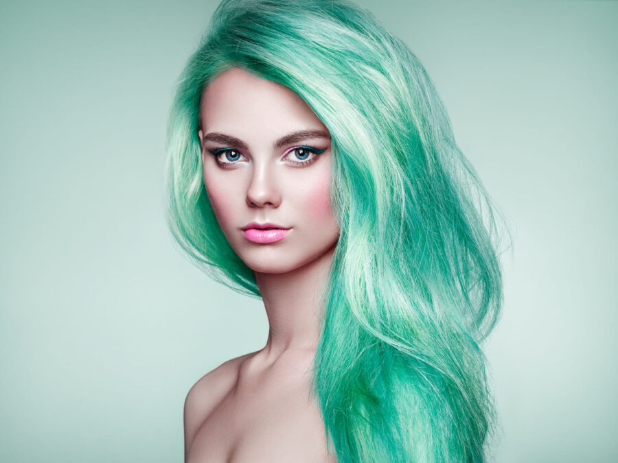 Купить зеленые краски для волос