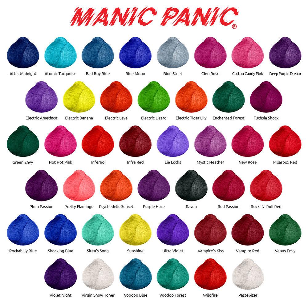 manic panic палитра
