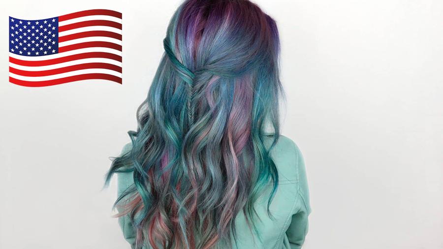 американская краска для волос