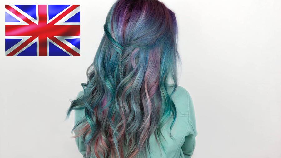 британская краска для волос
