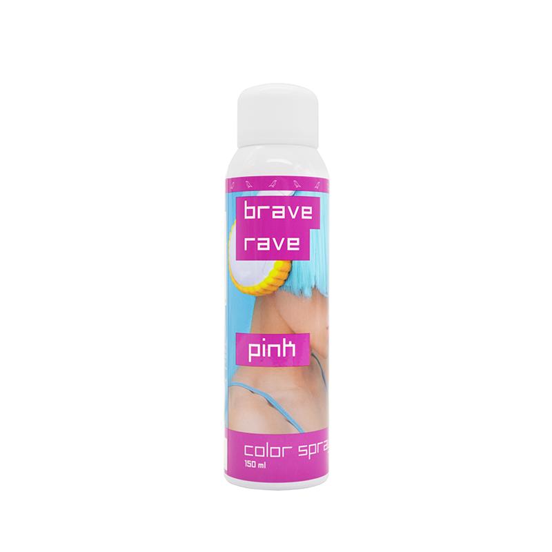 спрей для волос Brave Rave pink