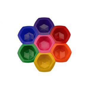 Соединяющиеся цветные миски для окрашивания Kitmix