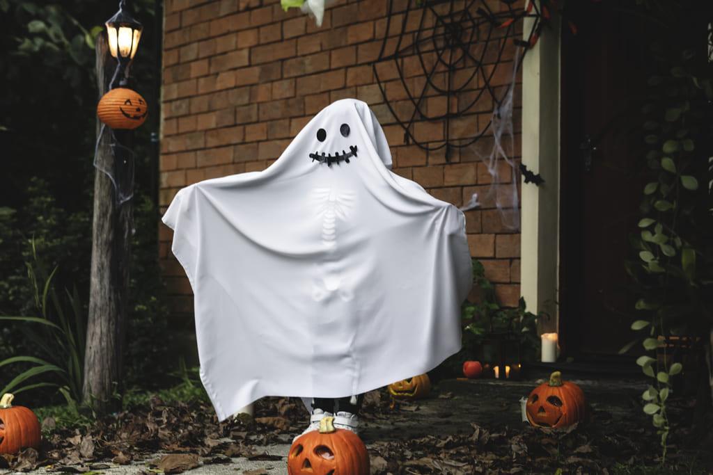 образ хэллоуин приведение 1